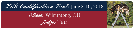 2018 Qualifications Trial