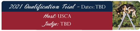 2021 Qualifications Trial